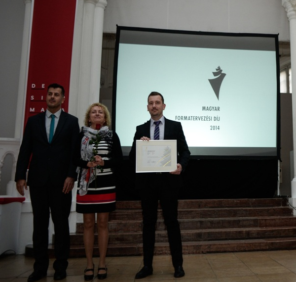 Success in the Hungarian Design Prize competition